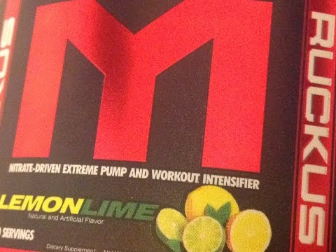 MTS Diet Ruckus An Internal Take a look at Marc Lobliner's New Pre-Workout