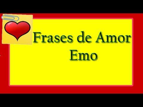 Frases De Amor Emo Frases Tristes Youtube