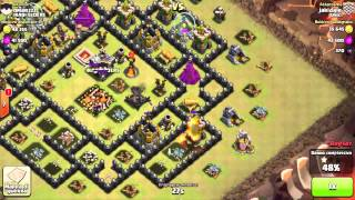 STRATEGIA PER WAR: Draghi e Mongolfiere - Clash of Clans