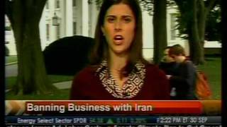 Today in Washington - Banning Business with Iran