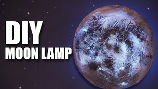 How to make a DIY Moon Lamp | Room Decor Ideas