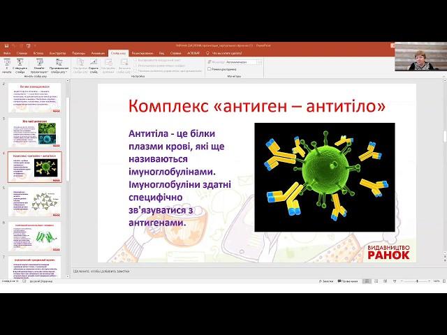 8 клас. Основи здоров'я. Наша дивовижна імунна система