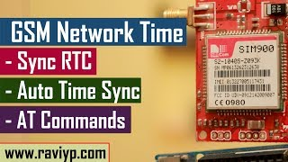 Learn, How to sync RTC time with Network Time using module - SIM900/SIM800/Telit Video