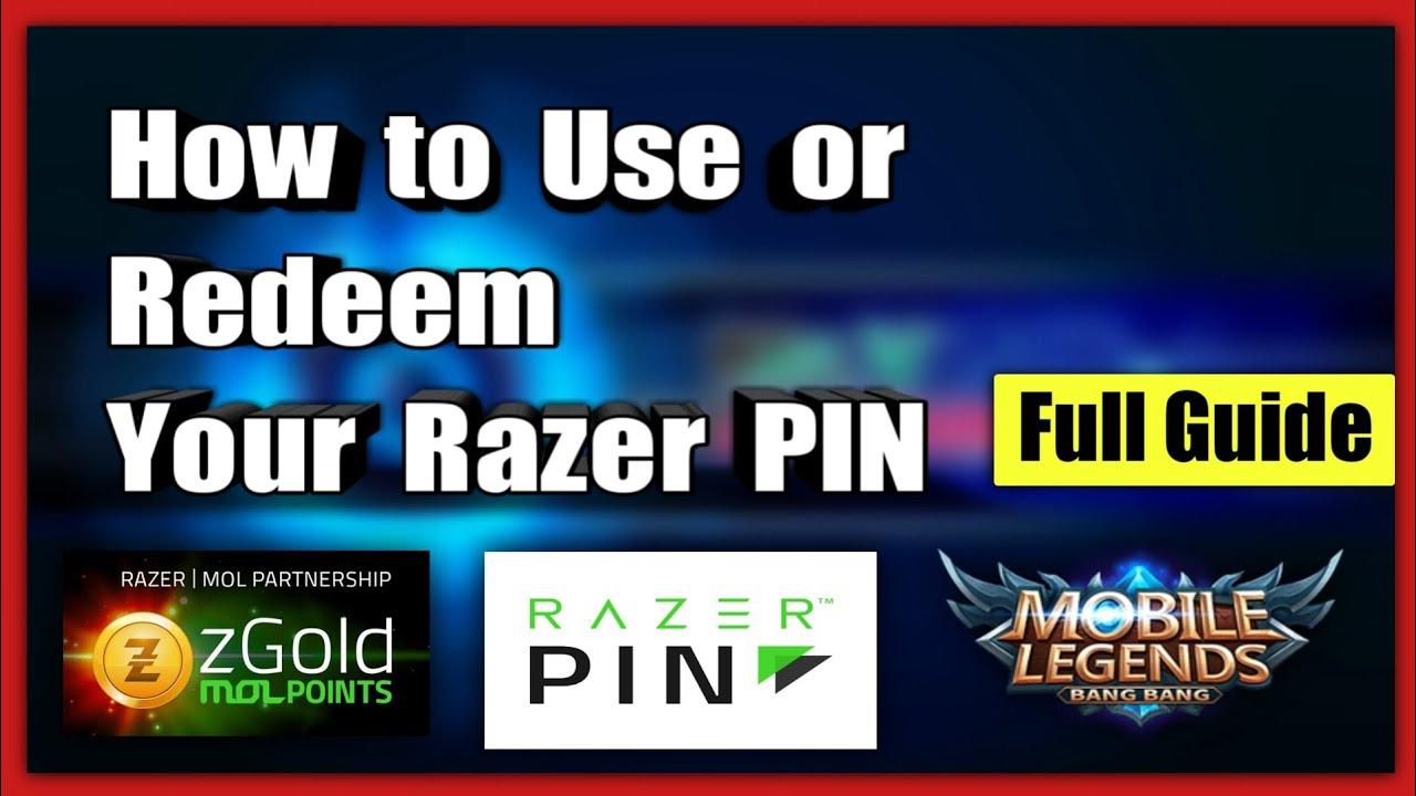 Paano Gamitin ang Razer PIN zGold-MOLPoints sa Mobile Legends BANG BANG