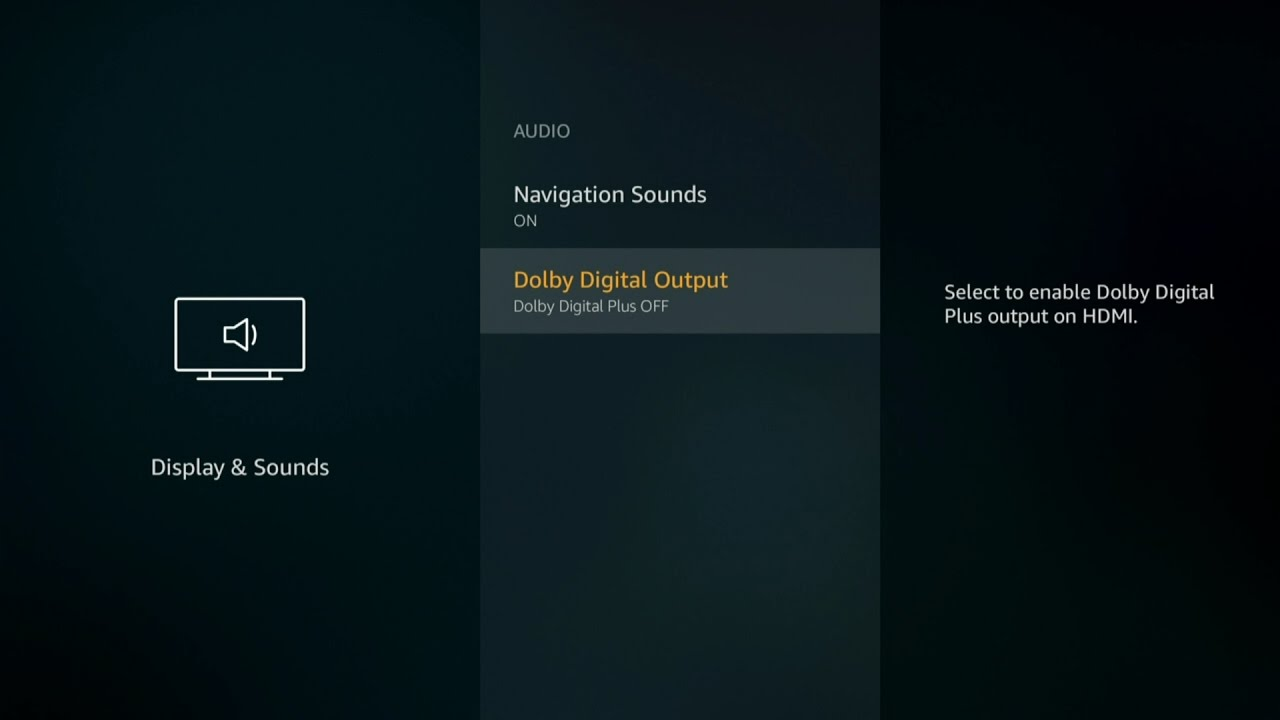 How to Fix Bad Sound Audio Issue for Amazon Fire TV 5 2 4 0 on TVGeek