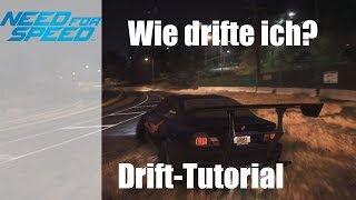 "NEED FOR SPEED (2015) [PS4] ""DRIFT TUTORIAL!"" [German][HD]"