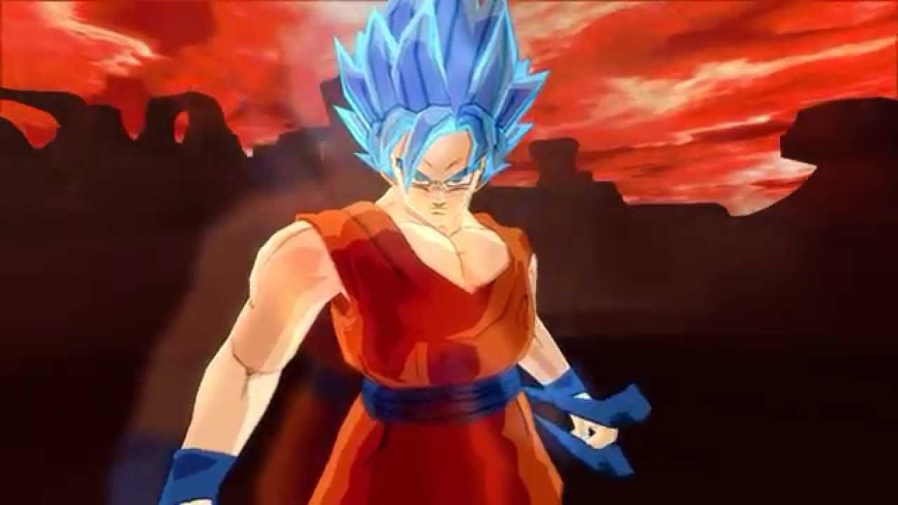 Golden Freezer Para Colorear: Goku Súper Saiyan Dios Súper