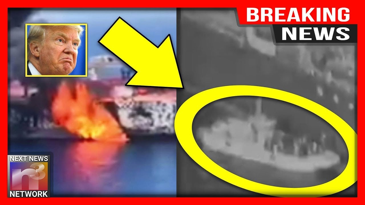 BREAKING: This DOD Video Shows EXACTLY What Happened Moments After Those Tankers Were ATTACKED