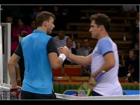 Grigor Dimitrov vs. Nicolas Almagro 6-2, 6-4 If Stockholm Open (R16) 22.10.2015.