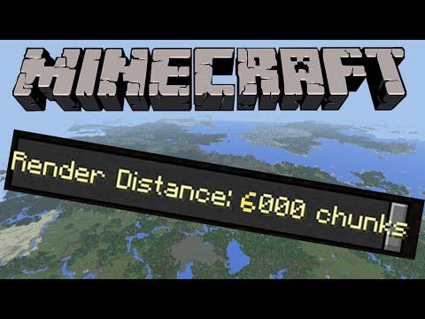 Render Distance At 6k Minecraft Windows