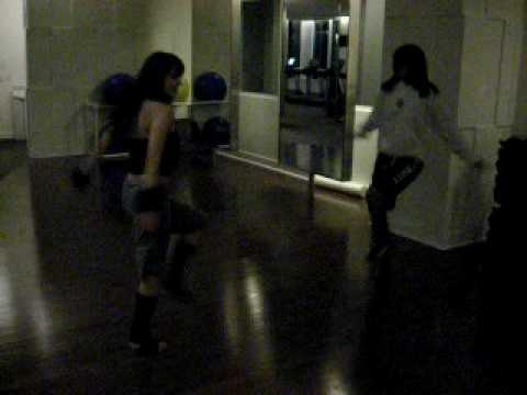 """Laura Furtado & Krystal Garib Performs """"Knight Rid..."""
