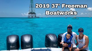 New 2019 37' Freeman Boatworks Delivery and Walk-Through
