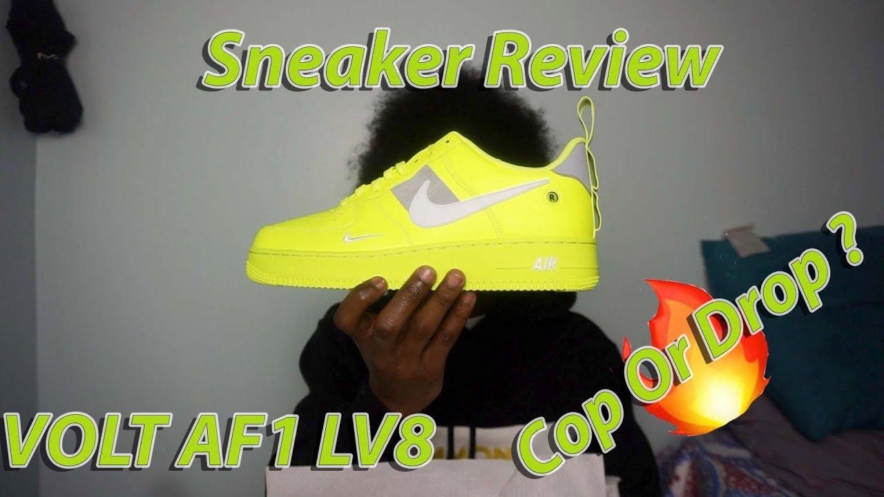 b47e19a15a5 Volt  Air force 1 07 LV8 Utility Sneaker Review