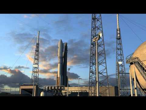 Juno spacecraft launch animation