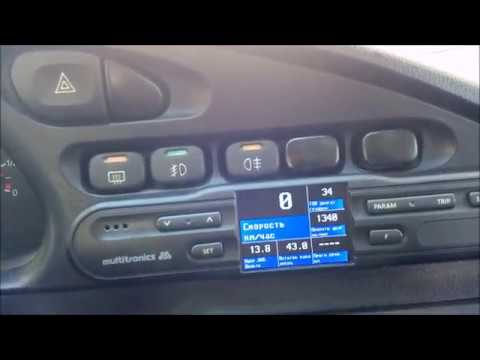 ДОРАБОТКА БК MULTITRONICS CL-570 на Chevrolet Niva до рестайлинга