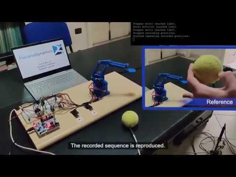 3D Printed Tool Changer Robotic Arm from Haddington