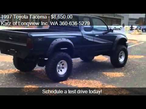 1997 Toyota Tacoma EXTCAB 4X4 LIFTED  for sale in Longv  YouTube