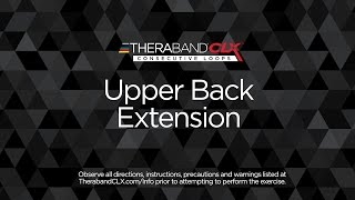 Upper Back Extension