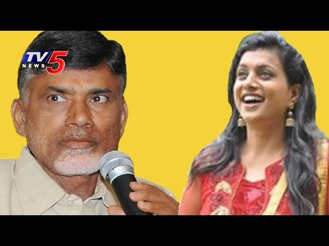 Biggest Joke Of The Year By Chandrababu - Roja : TV5 News