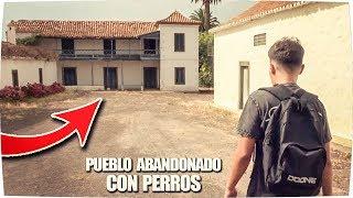 ✔ Visitando PUEBLO ABANDONADO con PERROS ! - Exploracion Urbana Lugares Abandonados en España