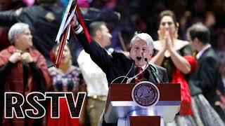 Obrador Promete Acabar con la Élite Satánica illuminati en su primer Discurso como Presidente