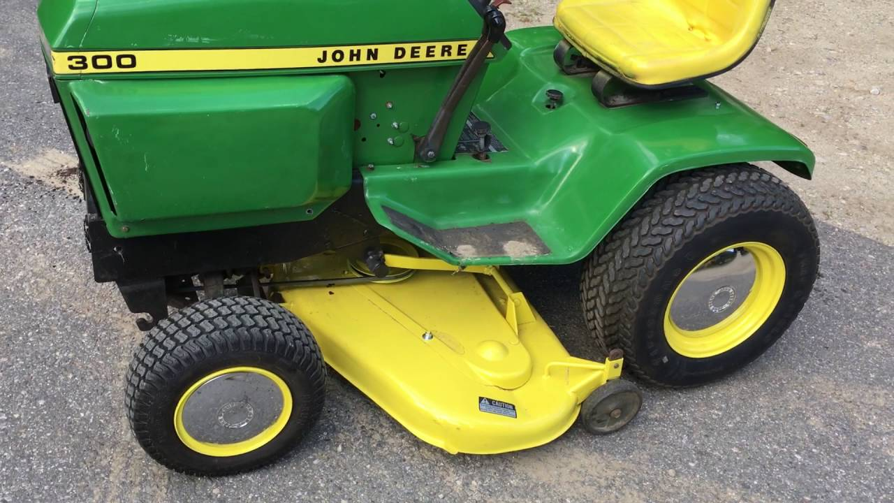 john deere 300 mower deck finished youtube. Black Bedroom Furniture Sets. Home Design Ideas