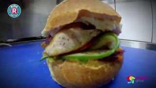 ring wok cafe burger how it s made