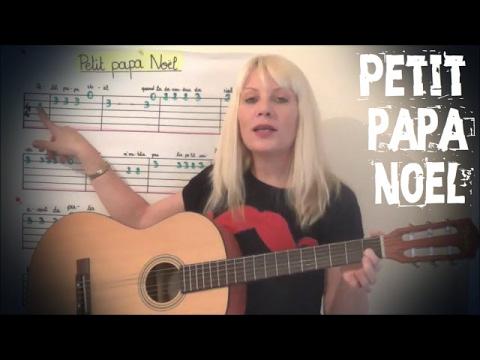 Cours De Guitare Pour Enfants Petit Papa Noel Youtube