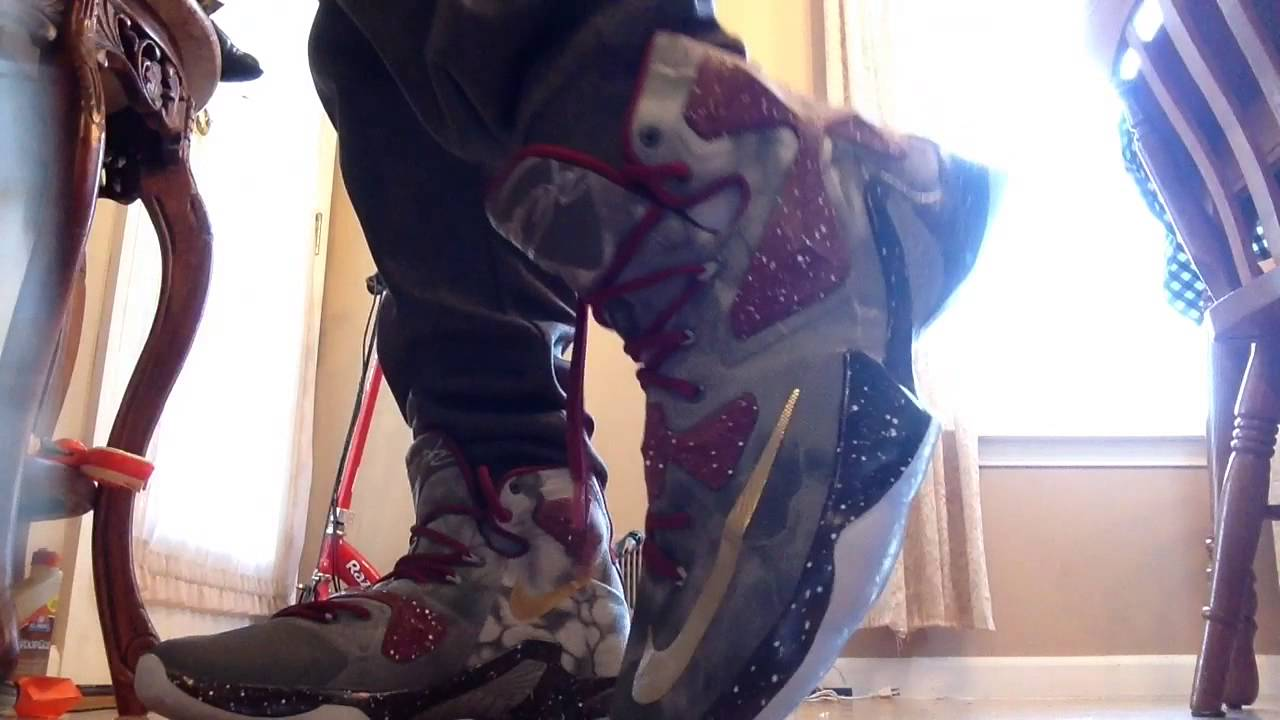 a3df67a16c3d0 LeBron 13 ID on foot - YouTube