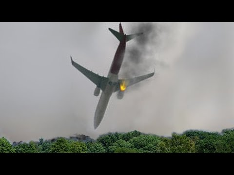 Airplane сrashes Failed Takeoff Aircraft And Crosswind Landings HD - 2016 Collection