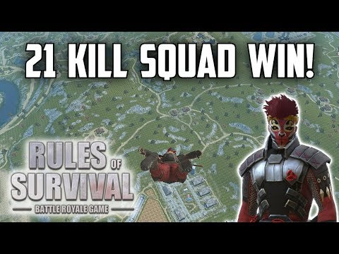 I LOVE MY TEAMMATES! - Rules of Survival: Battle Royale