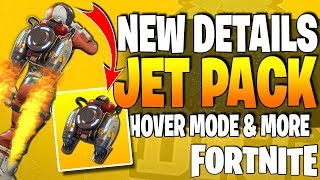*NEW* Fortnite - NEW JETPACK DETAILS & NEW LIMITED TIME GAMEMODE!! (All New Leaked Information)