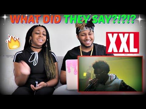 XXL Freshman Cypher w Playboi Carti, XXXTentacion, Ugly God and Madeintyo REACTION!!!