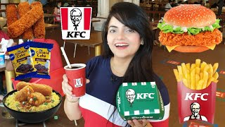 I only ate KFC for 24 HOURS Challenge | Food Challenge