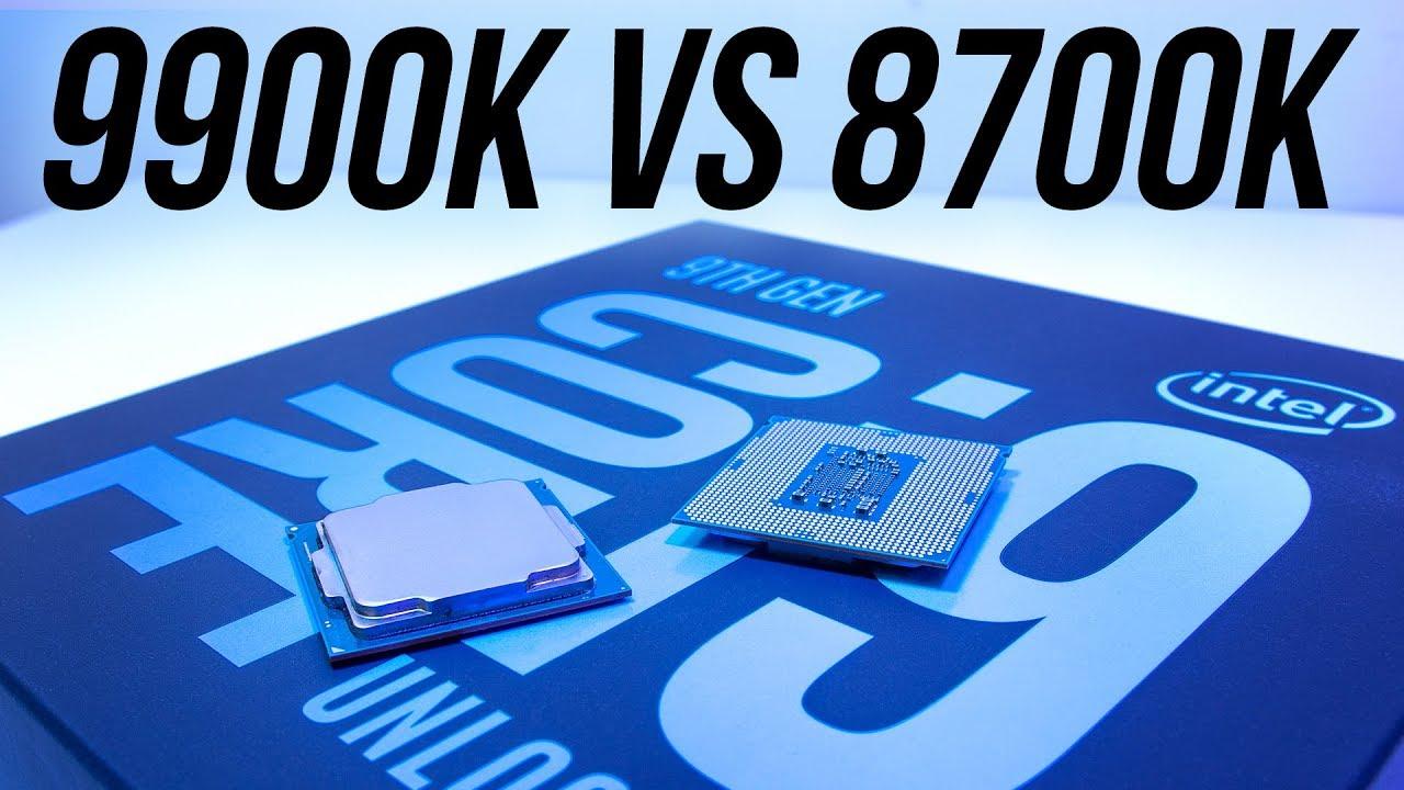Intel i9-9900K vs i7-8700K - Best Gaming CPU?