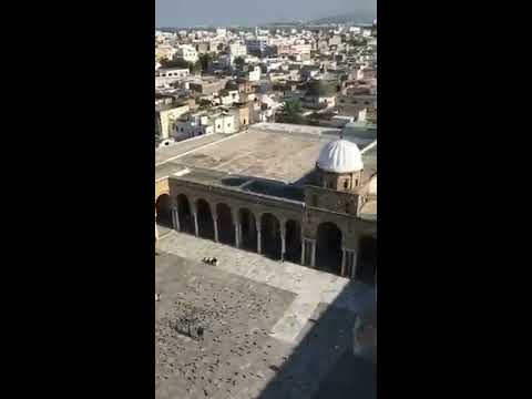 Another athan from Al-Zaytouna Mosque over the souks of Tuni
