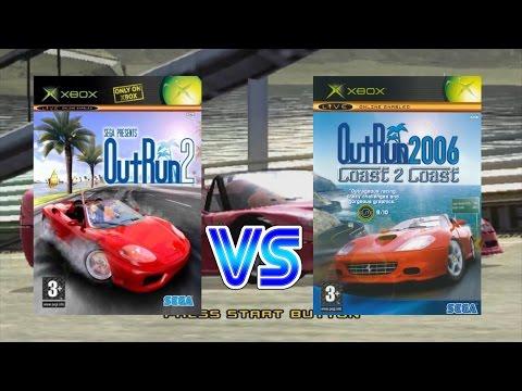Outrun 2 Vs Outrun 2006: Coast 2 Coast (Original Xbox)