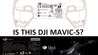 DJI Mavic-S (Standard!) - MY THOUGHTS on what I think it will be like...