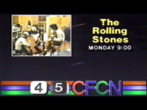 Rolling Stones 25X5 CFCN Promo, Dec 7 1989