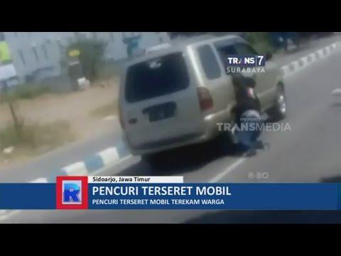 Pencuri Motor Terseret Mobil Mp3