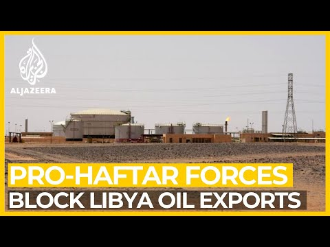 Pro-Haftar forces 'block