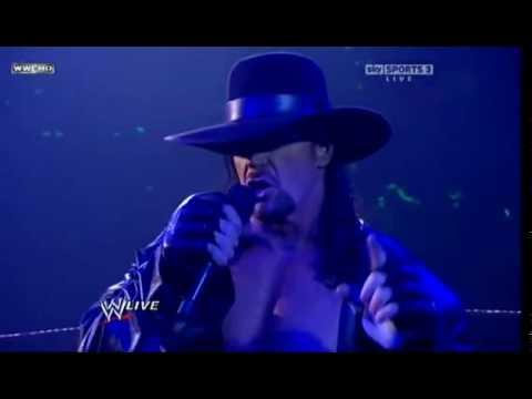 WWE Raw 11810 Undertaker, Shawn Michaels & Mr. McMahon Segment HQ