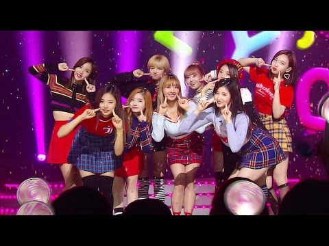 《Follow up Song》 TWICE (트와이스) - JELLY JELLY @인기가요 Inkigayo 20161127