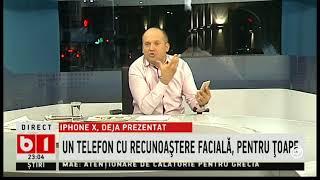 Radu Banciu, despre noul iPhone 10: identificare facială, asta e bine pentru țoape!