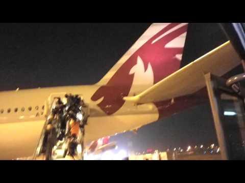 2011/12/19 カタール航空 802便 / Qatar Airways 802