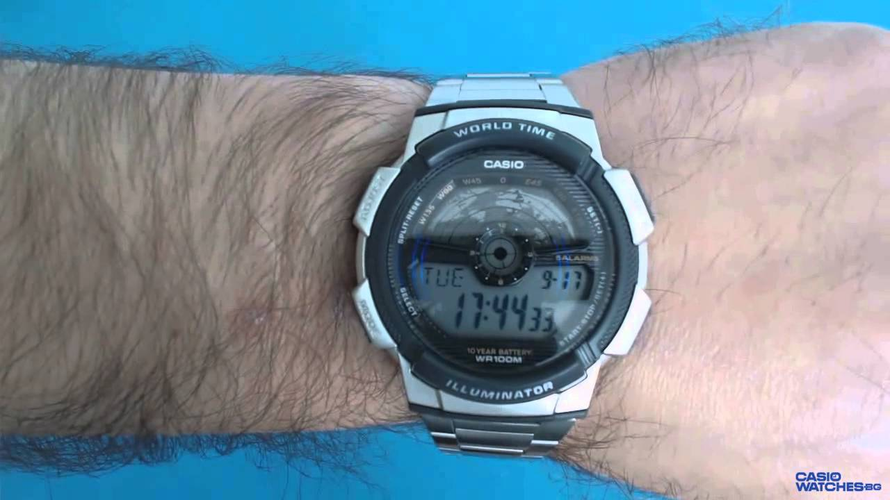49a151b1b4e Casio AE-1100WD-1A - YouTube