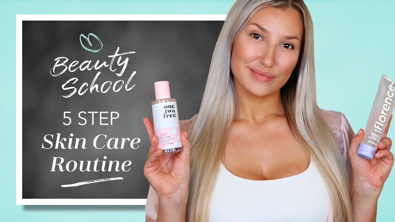 How to: 5 Step Skin Care Routine I Douglas Cosmetics