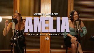 Un Año / La Boca / Culpables / Te Vi - Medley (Acoustic cover by: Amelia)