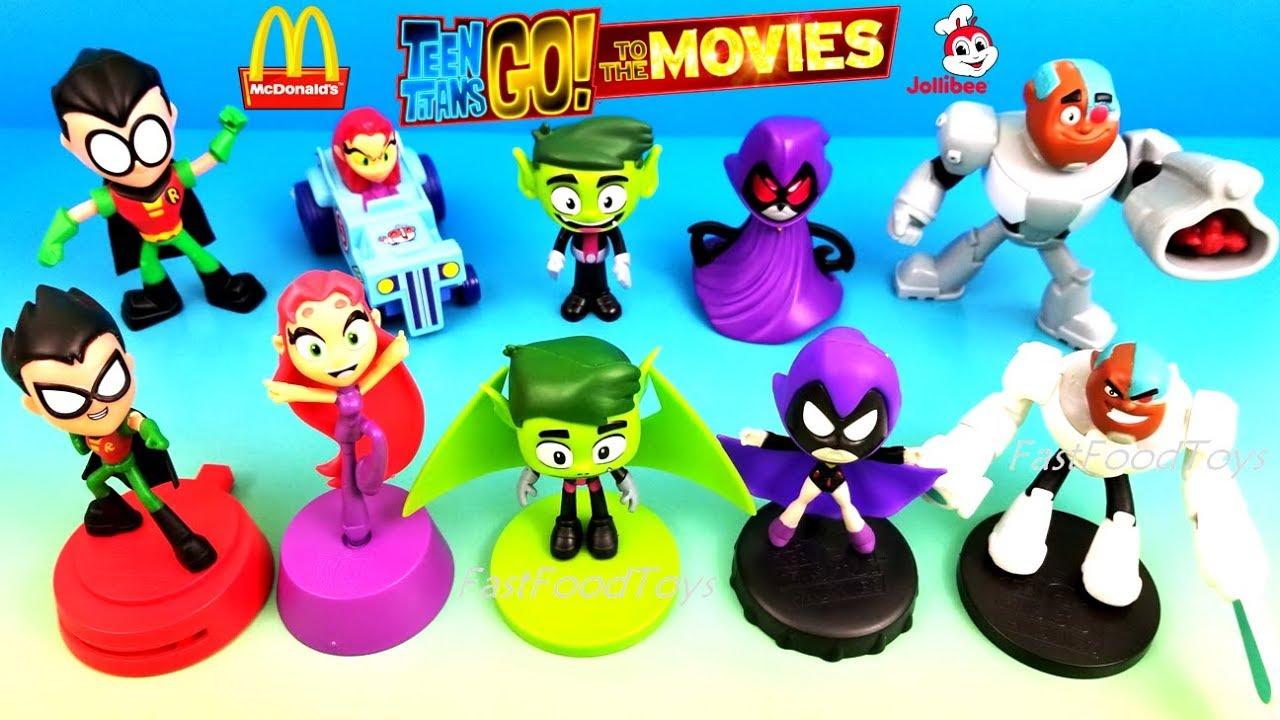 2018 Jollibee Teen Titans Go To The Movies Jolly Kiddie