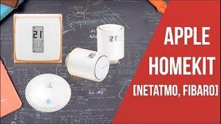Apple TV v Samsung TV? HomeKit chytrý termostat od Netatmo a upozornění na vytopení od Fibaro [4K]
